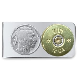 Other - Authentic Buffalo Nickel and Shot Gun Shell Clip